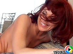 It looks like our mature slut Rubee Tuesday is pretty enjoying as she gets fucked by her young guy!